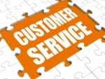 Customer Service Puzzle Showing Consumer Support Or Helpdesk