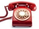 Red Rotary Phone