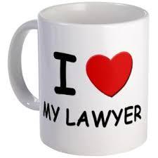 love your lawyer mug