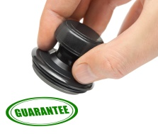 Hand and stamp Guarantee